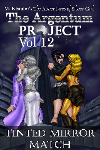 The Argentum Project Volume 12: Tinted Mirror Match Cover